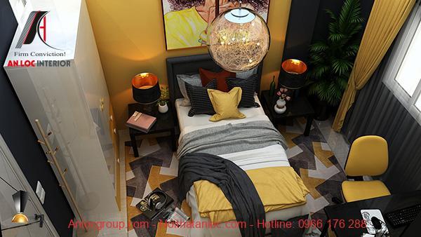 Thiết kế phòng ngủ 14m2