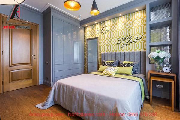 Thiết kế phòng ngủ nhỏ 14m2