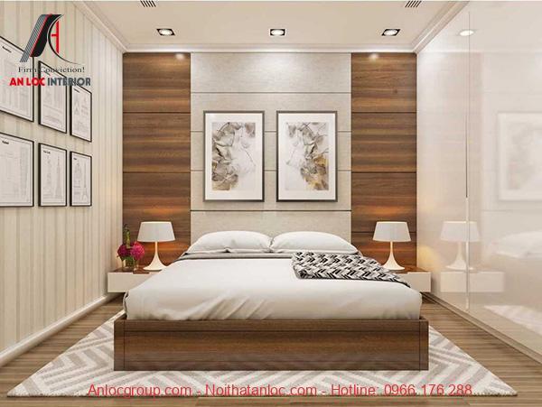 Nội thất phòng ngủ bằng gỗ cao cấp