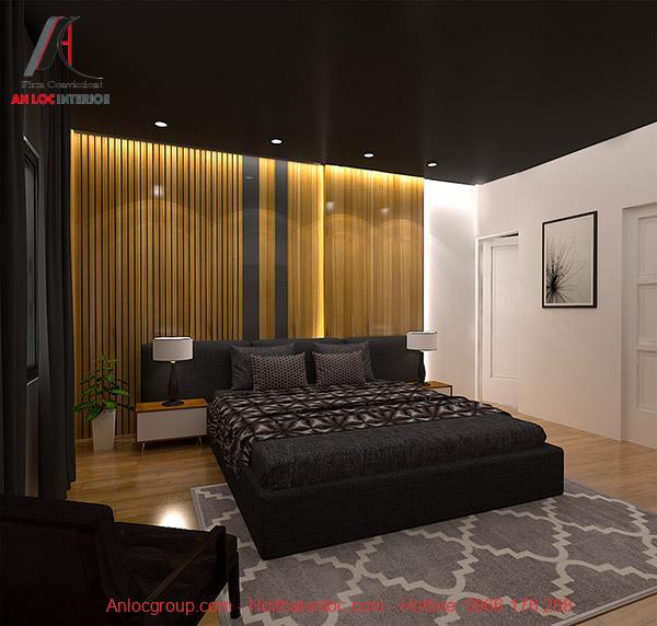 Thiết kế phòng ngủ ngủ 16m2 đơn giản