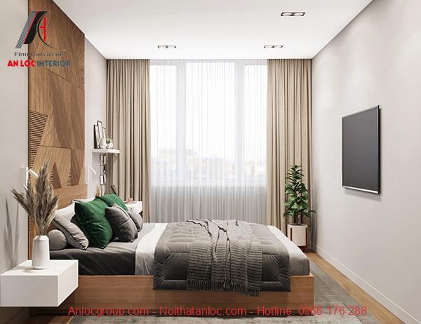 Thiết kế phòng ngủ 16m2 không gian mở