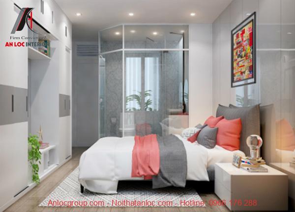 Phòng ngủ 16m2 đẹp