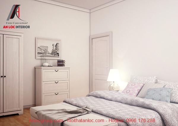 Thiết kế phòng ngủ 16m2  đơn giản