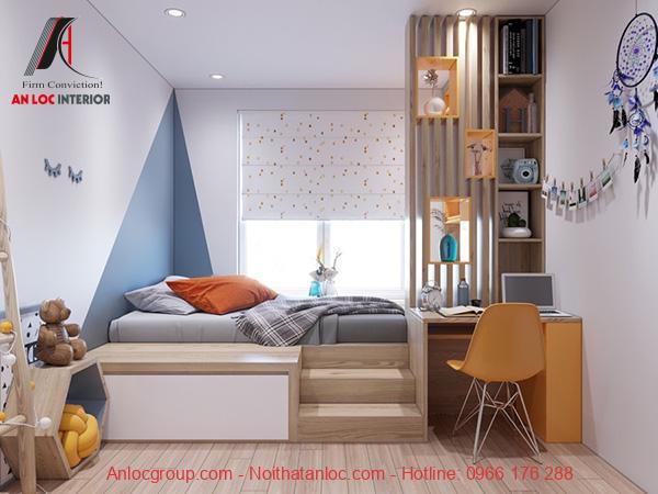 Trang trí phòng ngủ bé trai