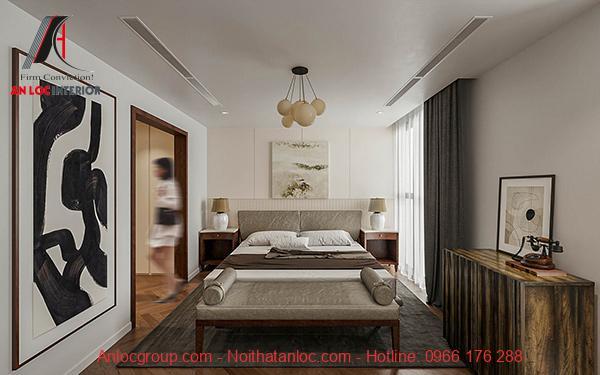 Phòng ngủ đẹp 18m2