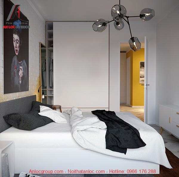 trang trí nội thất phòng ngủ hiện đại