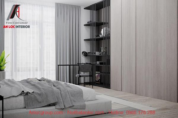 thiết kế phòng ngủ 20m2 cho vợ chồng