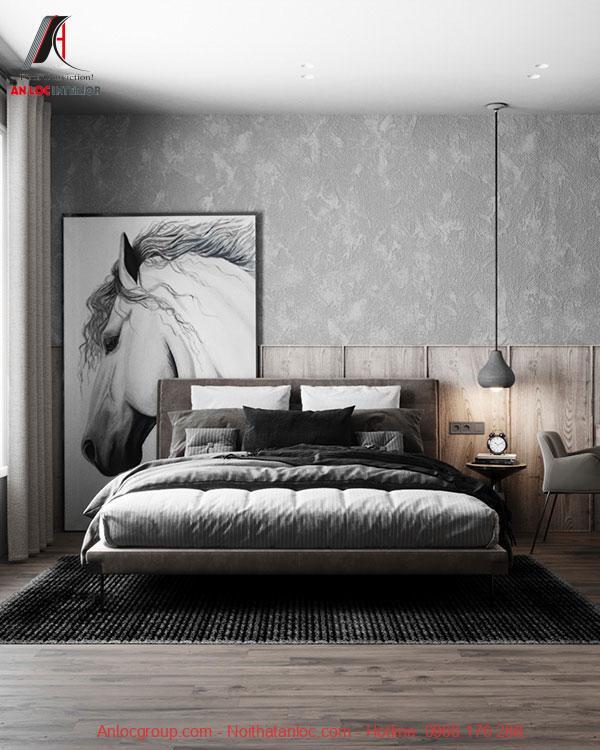 thiết kế nội thất phòng ngủ 20m2