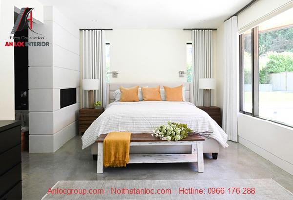Tối giản hóa đồ nội thất trong phòng nhằm gia tăng diện tích sử dụng