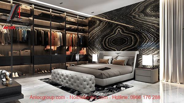 Phòng ngủ master đẹp, sang trọng