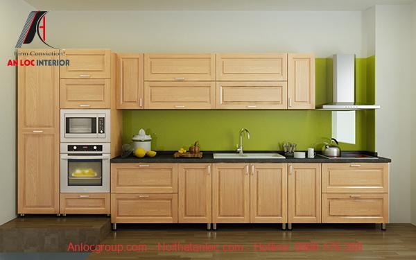 Mẫu 5: Thiết kế tinh tế mang đến căn bếp ấm cúng cho gia chủ