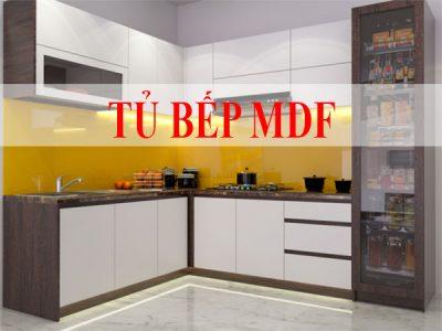 Tủ bếp mdf