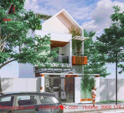Mẫu nhà phố 2 tầng 5x15
