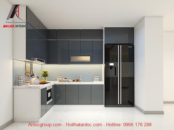 Kích thước tủ bếp hiện đại