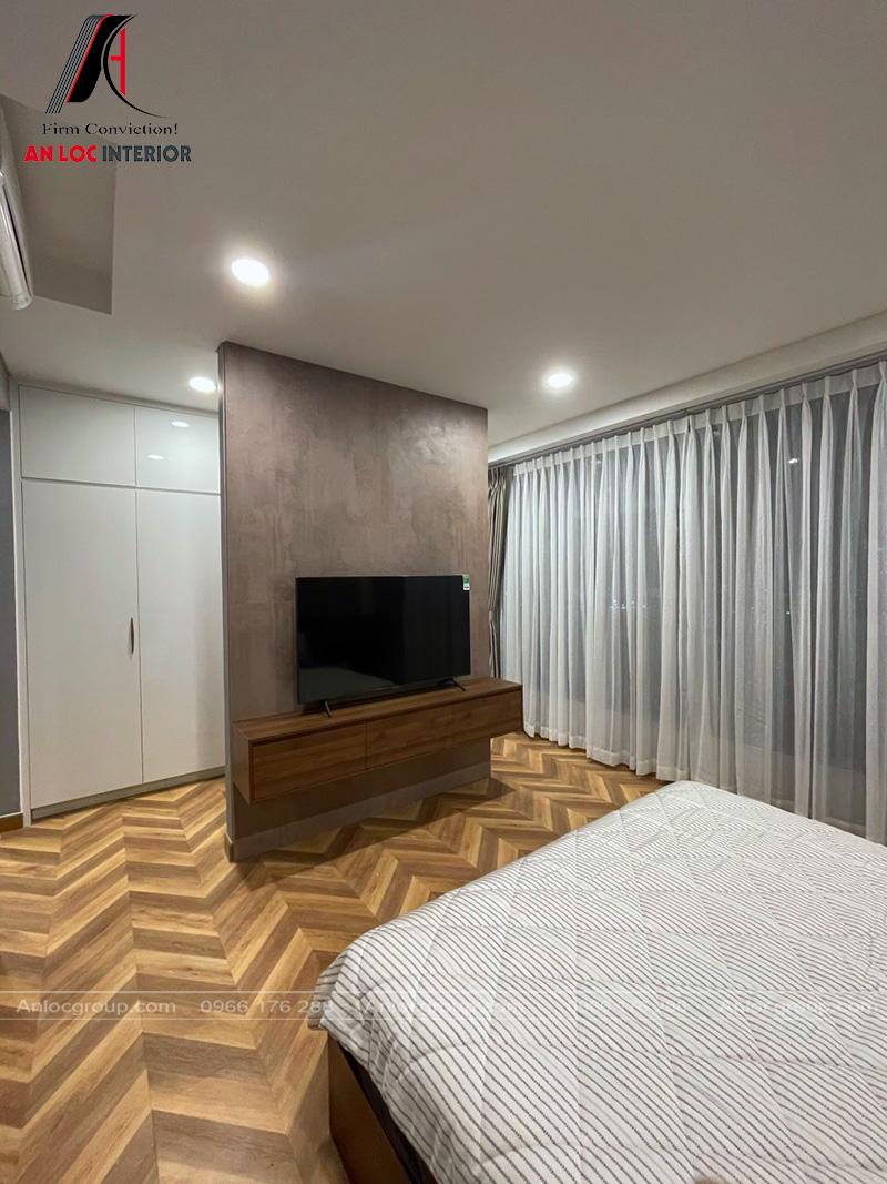 Thi công nội thất chung cư Sunwah Pearl 128m2