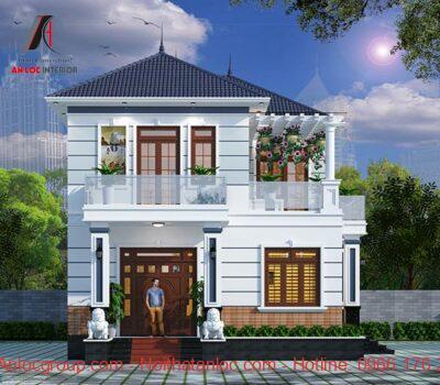 Thiết kế nhà 70m2 2 tầng