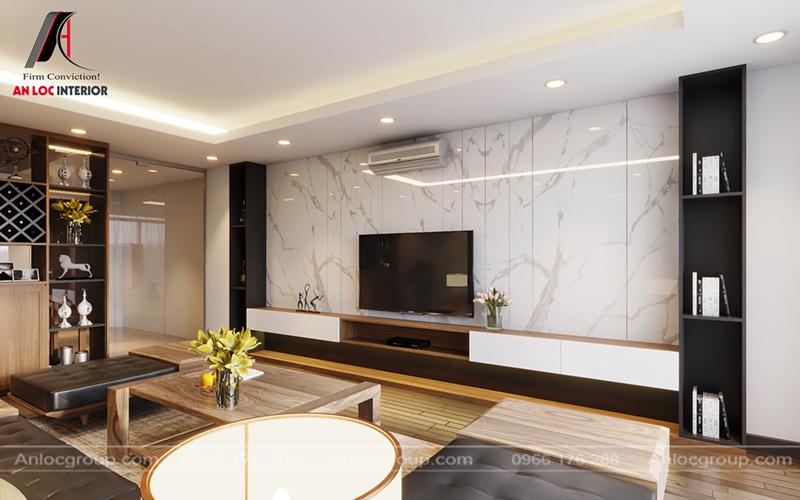 Thiết kế nội thất nhà phố tại Hà Nội