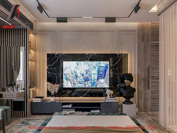 Phòng ngủ 40m2 đẳng cấp, thời thượng