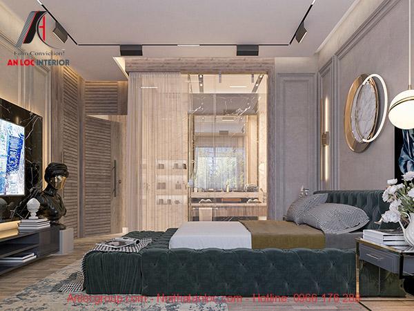 Phòng ngủ có nhà vệ sinh