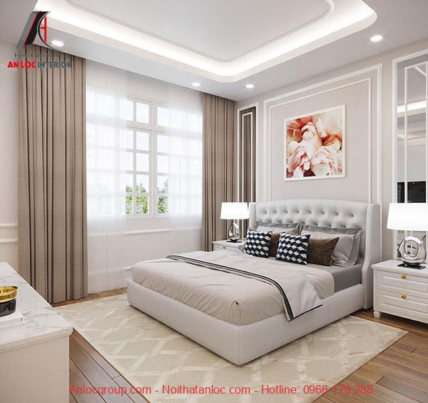 Decor phòng ngủ rộng 40m2