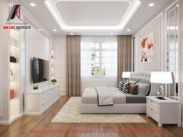Phòng ngủ master 40m2