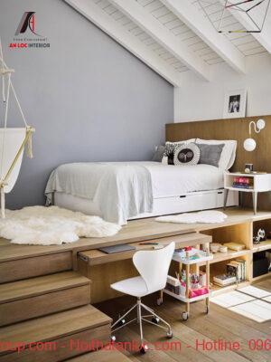 Thiết kế phòng ngủ nhỏ 5m2 hiện đại