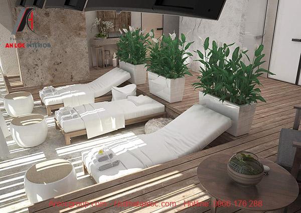 Thiết kế phòng spa đẹp