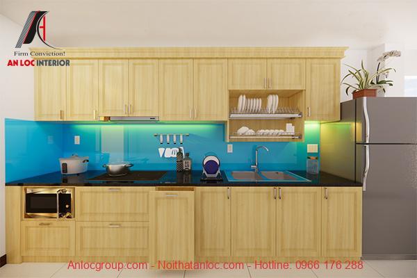 Trang trí phòng bếp đẹp, hiện đại