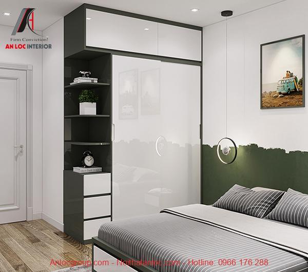 thiết kế căn hộ 67m2 phong cách hiện đại