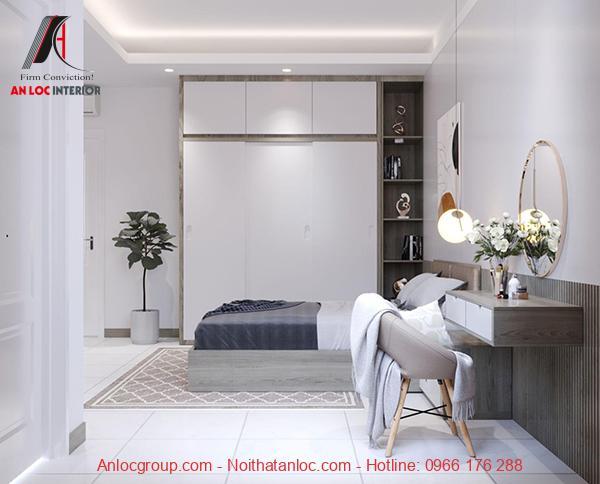 Thiết kế căn hộ chung cư 67m2