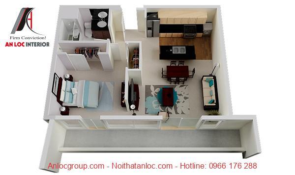 căn hộ chung cư 1 phòng ngủ tphcm