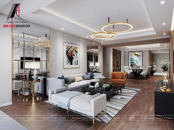 Thiết kế căn hộ 2 phòng ngủ đẹp