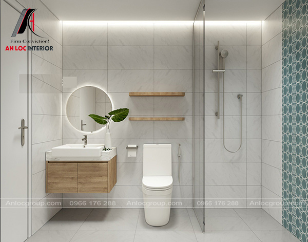 mẫu thiết kế chung cư 2 phòng ngủ