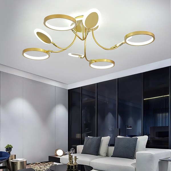 đèn trang trí phòng khách nhỏ