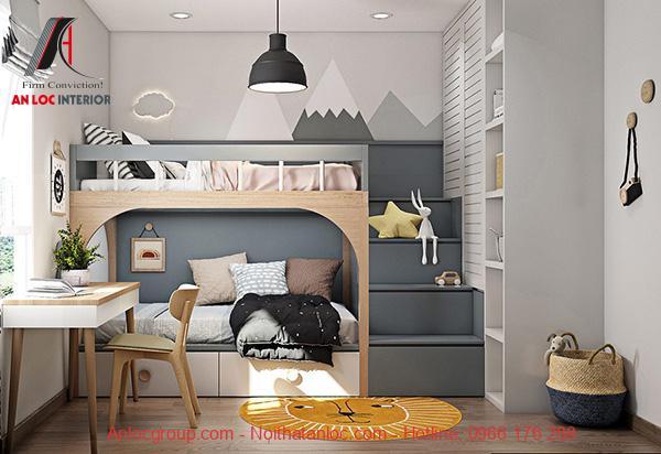 Giường tầng đa năng kết hợp