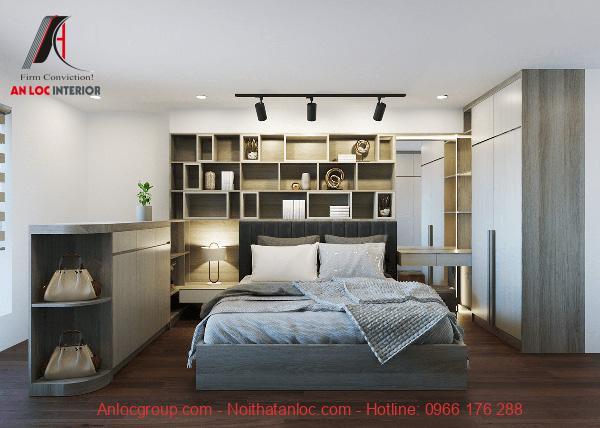 Giường liền tủ thông minh