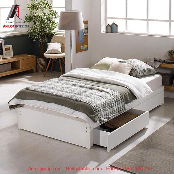 Giường có hộc tủ
