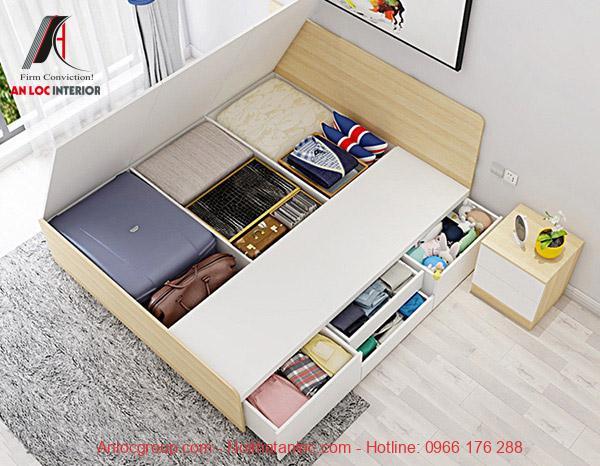 Thiết kế nội thất phòng ngủ thông minh