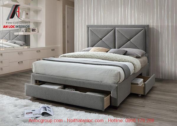 Giường ngủ có ngăn kéo để đồ