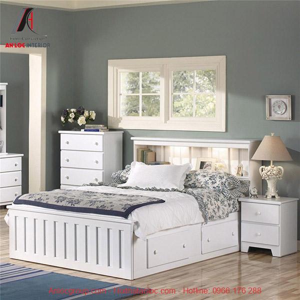 Giường ngủ có ngăn chứa đồ