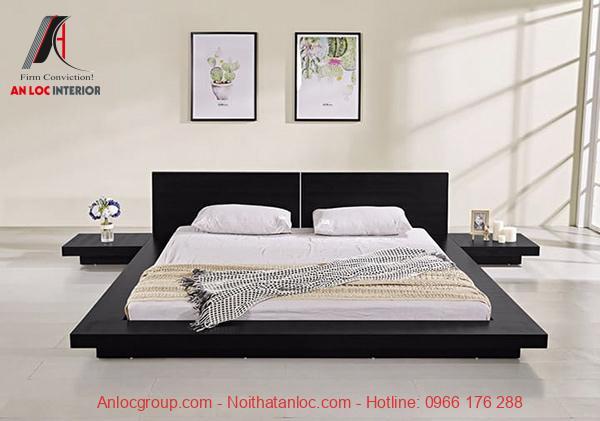 Giường ngủ sàn kiểu Nhật