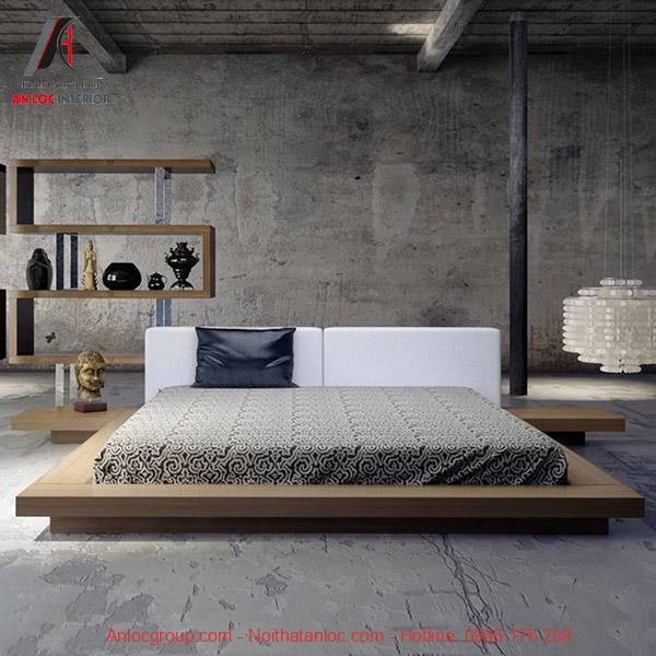 Giường ngủ bệt kiểu Nhật