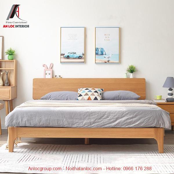 Giường ngủ thấp kiểu Nhật