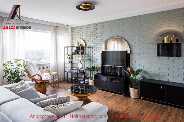 thiết kế nội thất căn hộ chung cư 36m2