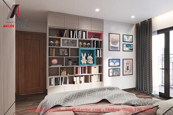 Mẫu chung cư 110m2 3 phòng ngủ