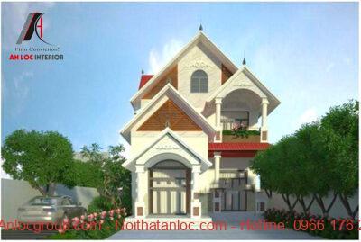 Mẫu thiết kế nhà 2 tầng 8x15m