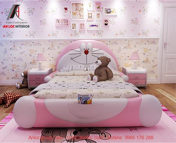 Phòng ngủ đẹp hình doremon