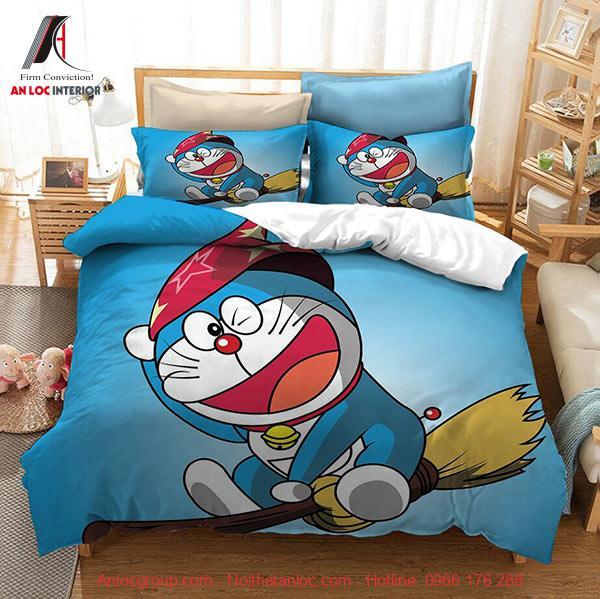 Trang trí phòng ngủ doremon