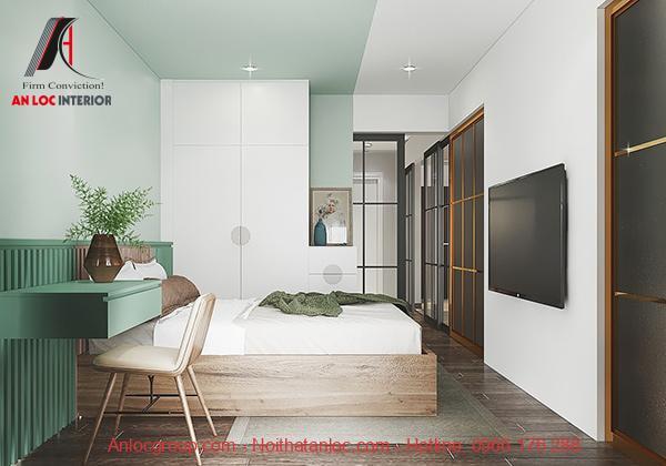 Nội thất phòng ngủ đẹp, hiện đại
