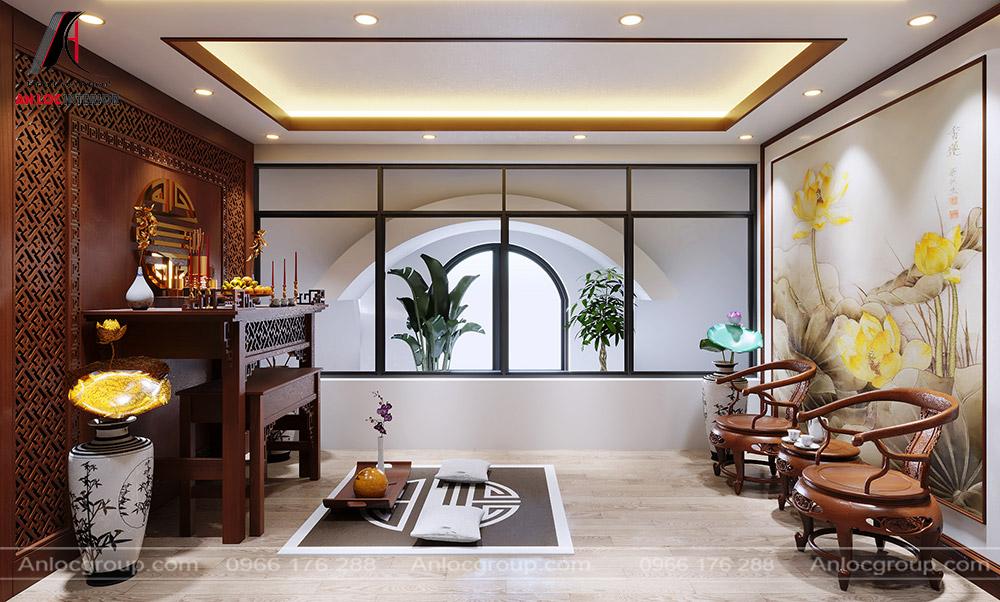 Tầng 5 biệt thự tại Hà Đông